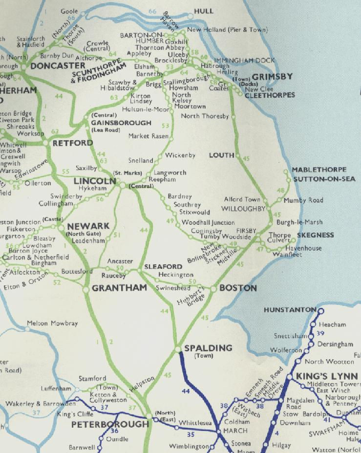 map lincolnshire bnhspine