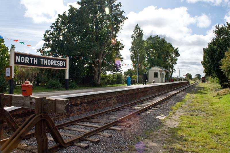 Lincolnshire Wolds Railway Northern Terminus At North